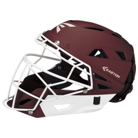 Easton Fastpitch Grip Catcher's Helmet - Women's - Maroon / White
