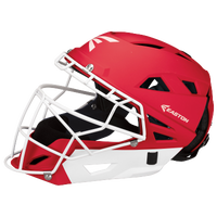 Easton Fastpitch Grip Catcher's Helmet - Women's - Red / White