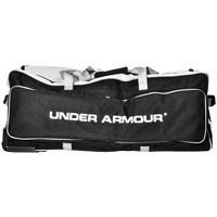 Under Armour Catcher's Equipment Roller Bag - Black / White