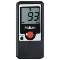 Pocket Radar Hand-Held Radar Gun - Black / Red