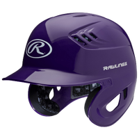 Rawlings Coolflo R16 Batting Helmet - Men's - Purple / White