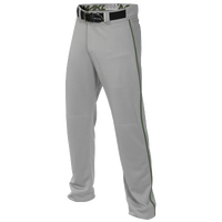 Easton Mako 2 Piped Baseball Pants - Men's - Grey / Green
