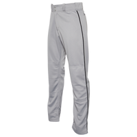 Easton Mako 2 Piped Baseball Pants - Men's - Grey / Black