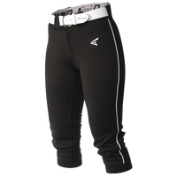 Easton Mako Piped Softball Pants - Women's - Black / White