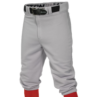 Easton Pro + Knicker Baseball Pants - Boys' Grade School - Grey / Grey