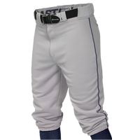 Easton Pro + Knicker Piped Baseball Pants - Men's - Grey / Navy