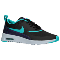 Nike Air Max Thea - Women's - Black / Light Blue