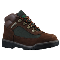 Timberland Field Boot - Boys' Preschool - Brown / Dark Green