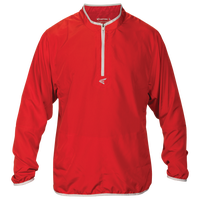 Easton M5 Long Sleeve Cage Jacket - Men's - Red / Silver
