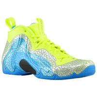 Nike Air Flightposite - Men's - Light Green / Light Blue