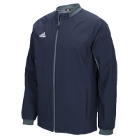 adidas Climalite Fielder's Choice Warm Jacket - Men's - Navy / Grey