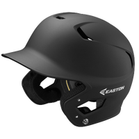Easton Z5 Grip Senior Batting Helmet - All Black / Black