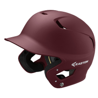 Easton Z5 Grip Senior Batting Helmet - Maroon / Maroon