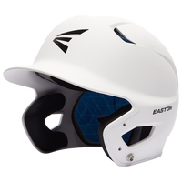 Easton Z5 Grip Junior Batting Helmet - All White / White