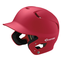 Easton Z5 Grip Junior Batting Helmet - Red / Red