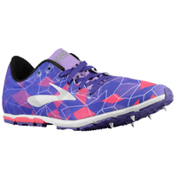 Brooks Mach 16 Spike - Women's - Purple / Pink