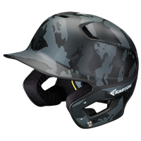 Easton Z5 Grip Basecamo Junior Batting Helmet - Black / Grey