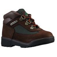 Timberland Field Boots - Boys' Toddler - Brown / Olive Green