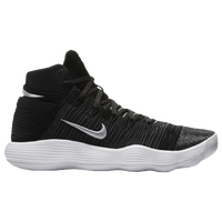 Nike React Hyperdunk 2017 Flyknit - Men's - Black / White