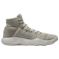 Nike React Hyperdunk 2017 Flyknit - Men's - Off-White / Silver