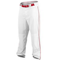 Rawlings Ace Relaxed Fit Piped Pant - Men's - White / Red