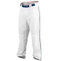 Rawlings Ace Relaxed Fit Piped Pants - Men's - White / Navy