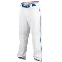 Rawlings Ace Relaxed Fit Piped Pants - Men's - White / Blue