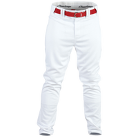 Rawlings Ace Relaxed Fit Pants - Youth - White / Red
