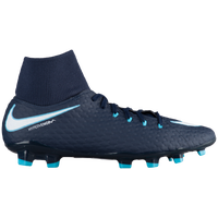 Nike Hypervenom Phelon III Dynamic Fit FG - Men's - Navy / White