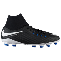 Nike Hypervenom Phelon III Dynamic Fit FG - Boys' Grade School - Black / White