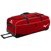 Mizuno Team MX Large Wheeled Equipment Bag - Red / Black