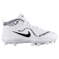 Nike Trout 4 Pro MCS BG - Boys' Grade School -  Mike Trout - White / Black