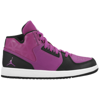 Jordan 1 Flight 3 - Girls' Preschool - Purple / White