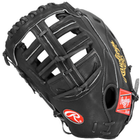 Rawlings Heart of the Hide First Base Mitt - Men's - All Black / Black