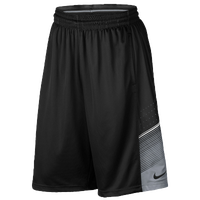 Nike Elite World Tour Shorts - Men's - Black / Grey