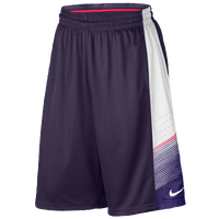Nike Elite World Tour Shorts - Men's - Purple / White