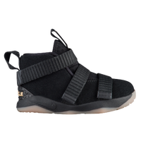 Nike LeBron Soldier 11 - Boys' Toddler -  Lebron James - Black / Black