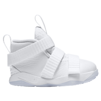 Nike LeBron Soldier 11 - Boys' Toddler -  Lebron James - White / Light Blue