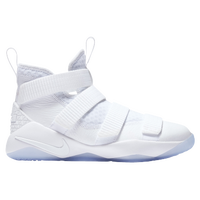 Nike LeBron Soldier 11 - Boys' Grade School -  Lebron James - White / Grey