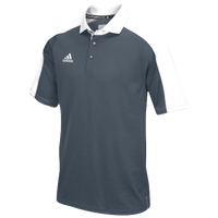 adidas Team Modern Varsity Polo - Men's - Grey / White