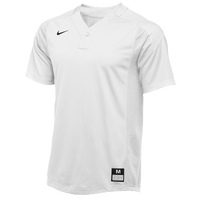 Nike Team Vapor 1 Button Laser Jersey - Men's - All White / White