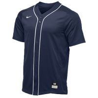 Nike Team Vapor Full Button Dinger Jersey - Men's - Navy / White
