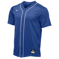Nike Team Vapor Full Button Dinger Jersey - Men's - Blue / White