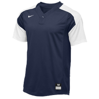 Nike Team Vapor 1 Button Laser Jersey - Boys' Grade School - Navy / White