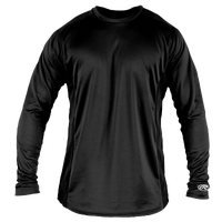 Rawlings Base Layer T-Shirt - Men's - All Black / Black