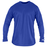 Rawlings Base Layer T-Shirt - Men's - Blue / Blue