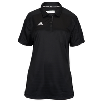 adidas Climalite Team Select Polo - Women's - Black / Black