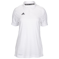 adidas Climalite Team Select Polo - Women's - White / White