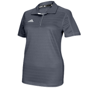 adidas Climalite Team Select Polo - Women's - Grey / Grey