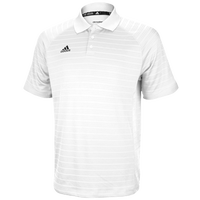 adidas Climalite Team Select Polo - Men's - All White / White